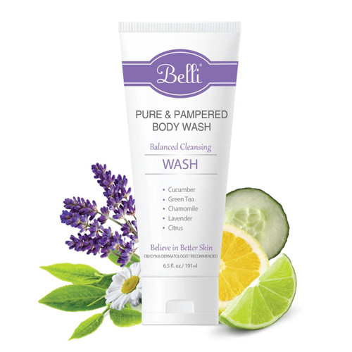 Belli Skincare Pure and Pampered Body Wash