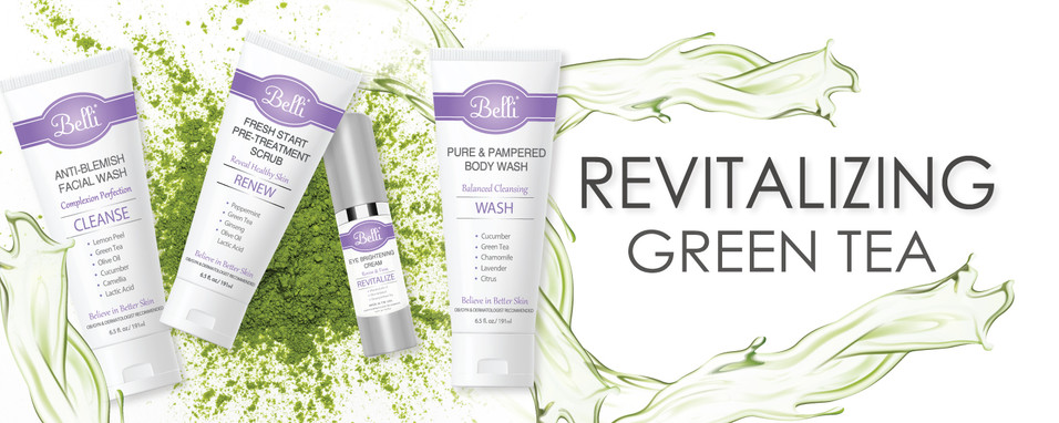 Green Tea Extract in Skincare Products