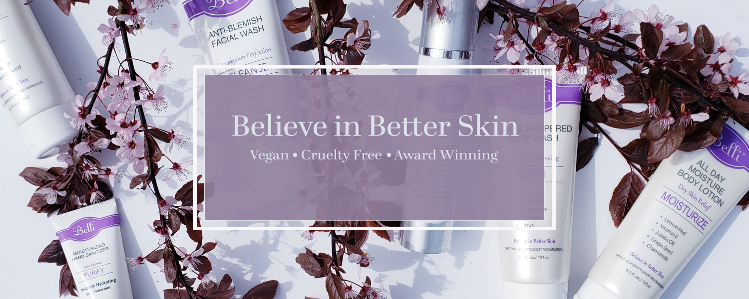 Belli Skincare Vegan Cruelty Free Products