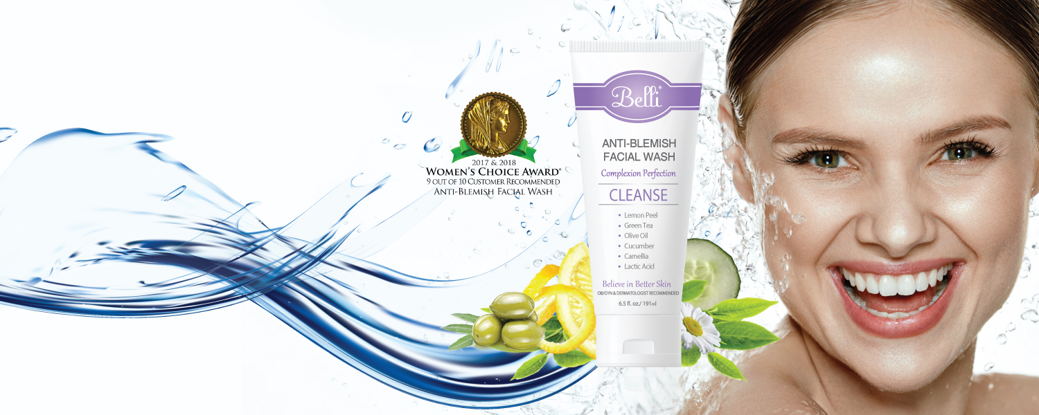 Belli Fresh Start Pre Treatment Face and Body Exfoliating Scrub for skin buffing and resurfacing to smoothing skin pregnancy safe