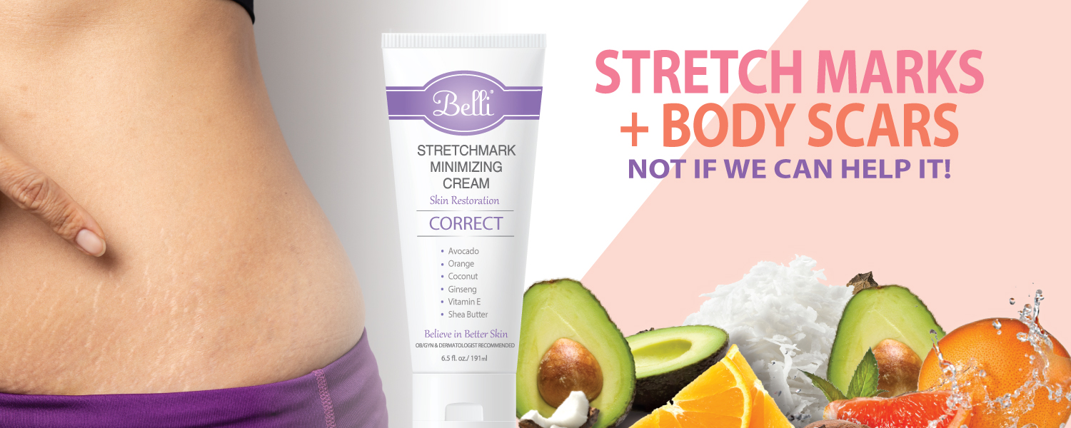 Stretchmark and Body scar minimizing cream