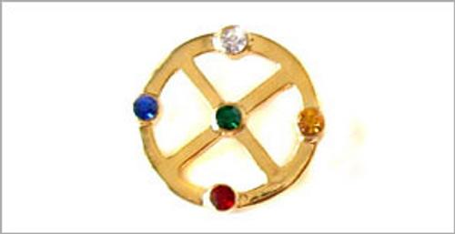 Gold Medicine Wheel