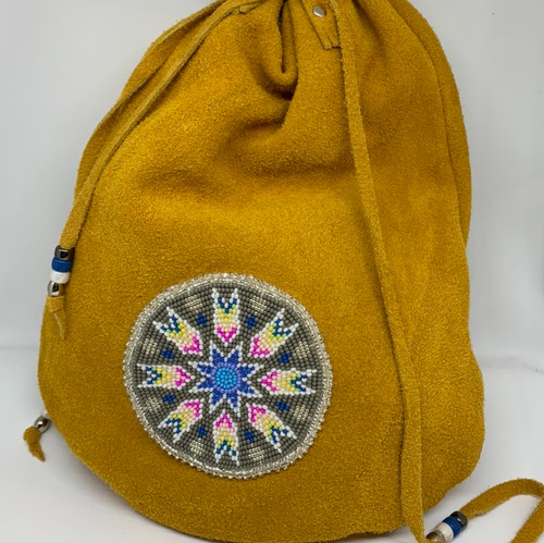 Moosehide Large Medicine Bag