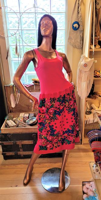 Pink Kokum Scarf Dress