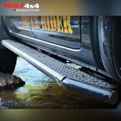 Ironman 4x4 Ford Ranger PX/PXII Steel Side Steps & Rails