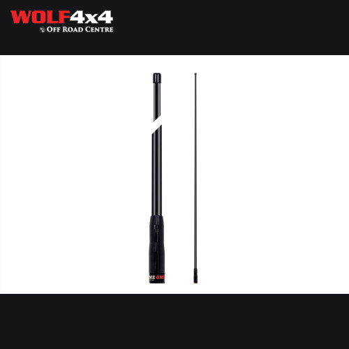 GME AW4706B UHF Antenna Whip, BLACK to suit AE4706B