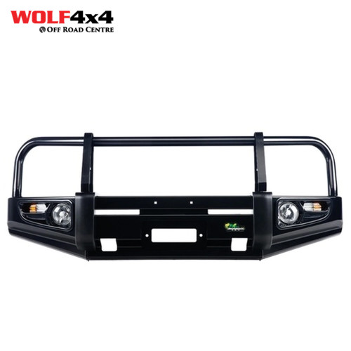 Ironman 4x4 Deluxe Commercial Bull Bar - Toyota Hilux (1997 - 2004)