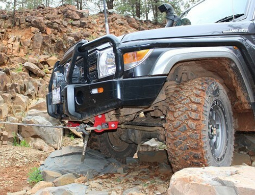 Ironman 4x4 Rated Recovery Points - Toyota Landcruiser 70 Series (2007 - Current)