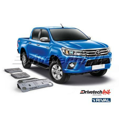 Drivetech 4x4 Underbody Armour 1st Plate by Rival - Toyota Hilux Revo/N80/GUN126 (2015 - Current)