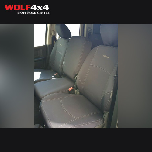 The Wet Seat -  Ram 1500 Express (Unlocked Middle seat in Front row) Neoprene Seat Cover 2015 On (Front)