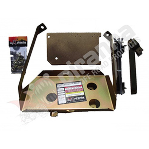Piranha Dual Battery Tray - Toyota Land Cruiser 70 V8 ABS 2016 - Current