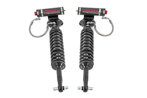 Rough Country  2in Ford Front Adjustable Vertex Coilover Leveling Kit (14-21 F-150 4WD)