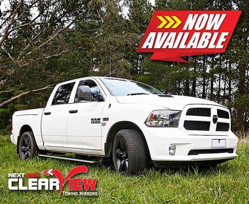 Clearview Towing Mirrors | Ram 1500 DS | 2009-Current