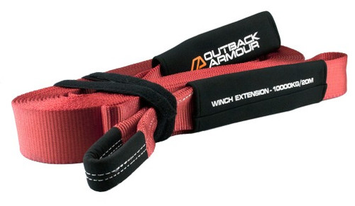 Outback Armour Winch Extension Strap 10T / 20M