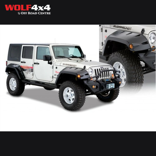 Bushwacker Pocket Flares - Jeep Wrangler Unlimited JK
