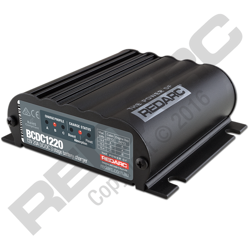 Redarc 20A In-Vehicle DC Battery Charger
