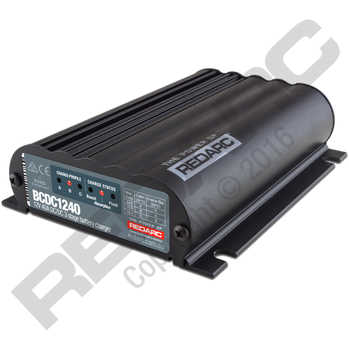 Redarc 40A In-Vehicle DC Battery Charger