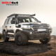 Drivetech 4x4 Front Bar by Rival - Toyota Land Cruiser 200 Series (2016 - Current)