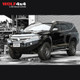PIAK Racer Side Steps - Checker Plate Silver Anodized - Mitsubishi Pajero Sport QE (2015 - Current)