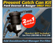 ProVent 200 Oil Catch Can Kit - Ford Ranger T6 2.2, 3.2 / Ford Everest 3.2 With 2 on 1 Bracket-1
