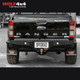 PIAK Premium Rear Step Towbar with Side Protection - Ford Ranger PX/PX2/PX3 (2011 - Current) / Mazda BT-50 (2011 - 2020)