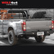 PIAK Premium Rear Step Towbar with Side Protection - Isuzu D-Max / Holden Colorado RG (2012 - 2020)