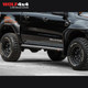 PIAK Side steps Checkerplate Black Anodized - Ford Ranger PX,PX2,PX3 / Mazda BT-50 (2011 - Current)