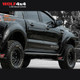 PIAK Side steps Checkerplate Silver Anodized - Ford Ranger PX,PX2,PX3 / Mazda BT-50 (2011 - Current)