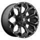 ASSAULT 20x9 5x139.70/5x150.00 MATTE BLACK MILLED (1 mm)