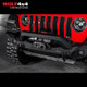 Drivetech 4x4 Front Bar by Rival - Jeep Wrangler JK/JL (2007 - Current) / Jeep Gladiator (2019 - Current)