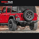 Drivetech 4x4 Rear Bar by Rival - Jeep Wrangler JL (2018 - Current)