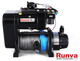 Runva Winch EWS10000 PREMIUM 12V with Synthetic Rope - TWIN MOTOR