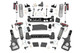 Rough Country 6 Inch Lift Kit | Ram 1500 DT 4WD (2019-2021) with Vertex Remote Res Adjustable Coilovers and Vertex Piggypack Res Adjustable Rear Shocks - NON AIR RIDE