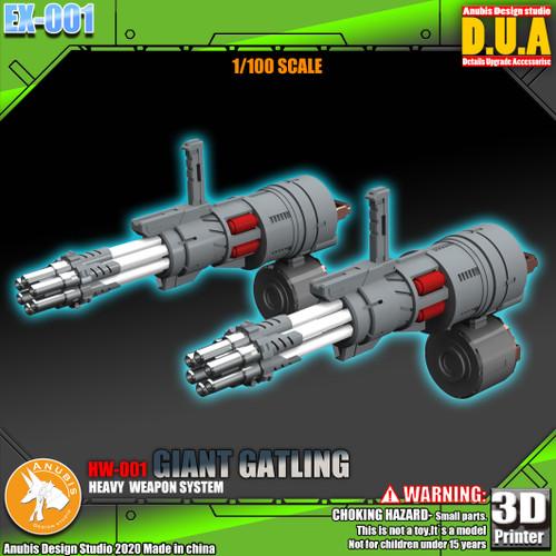 Dual Gatling Guns