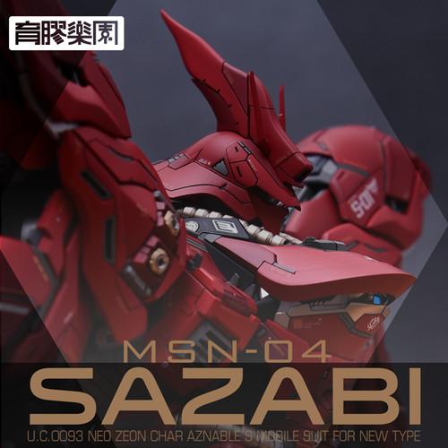 MG Sazabi ver.Ka Resin Conversion Kit 1.0