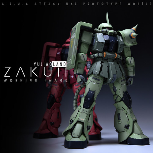 MG Zaku II Conversion Kit