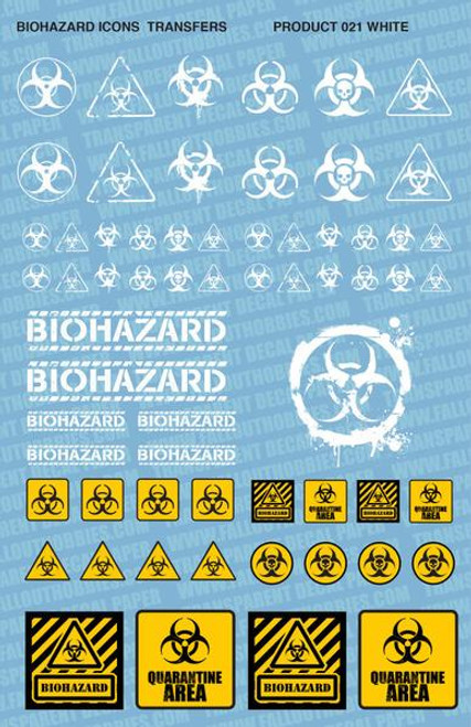 Biohazard Decal