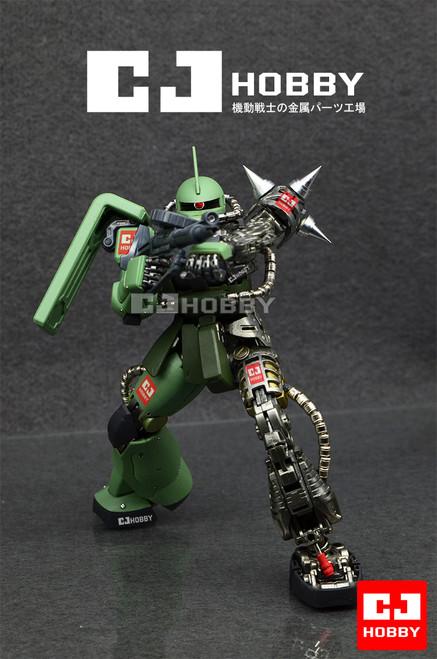 MG Zaku II Metal Set