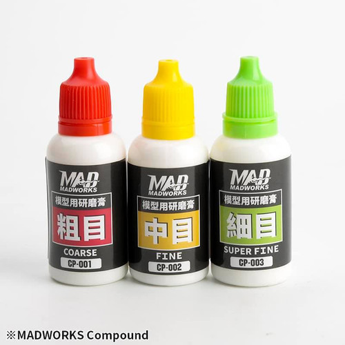 3 in 1 Compound Set with Buffing Cloth