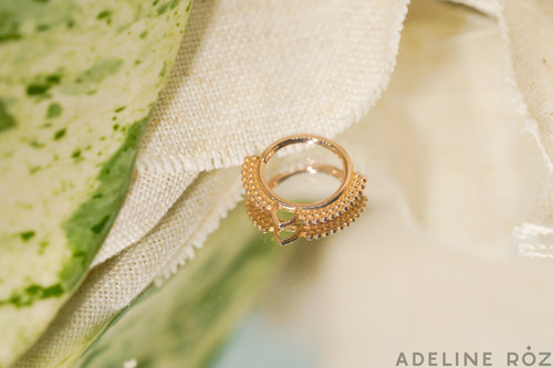 Calliope decorative seam ring