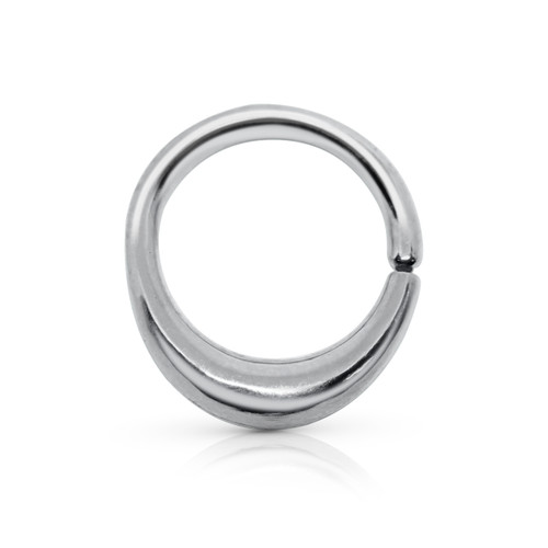 Chevrette decorative seam ring