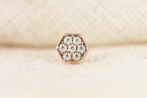 Pavé hexagon