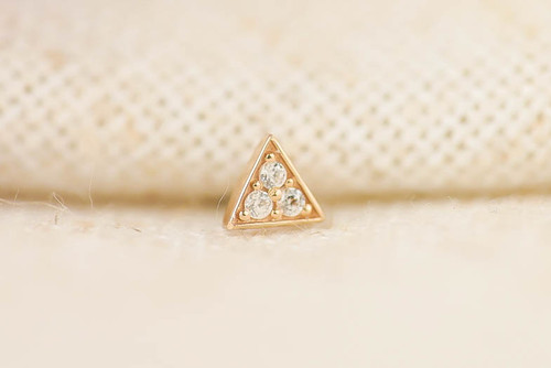 Pavé triangle