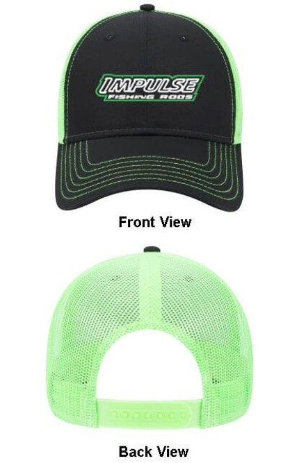 Black/Green Mesh Cap