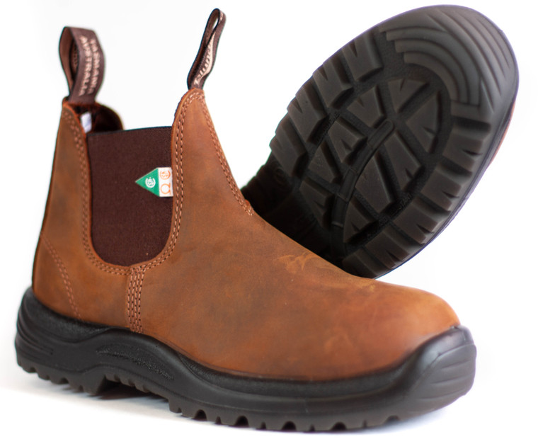 Blundstone 164 - CSA Boot Crazy Horse Brown