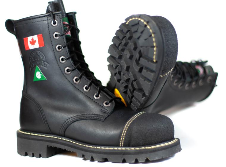 Canada West 6211 Women`s CSA Black Loggertan