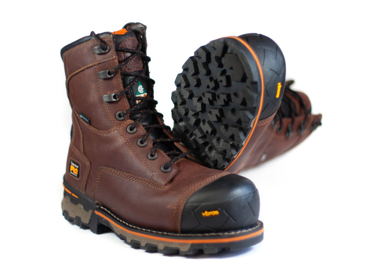 "Timberland CSA 8"" Boondock Comp Toe Work Boots"