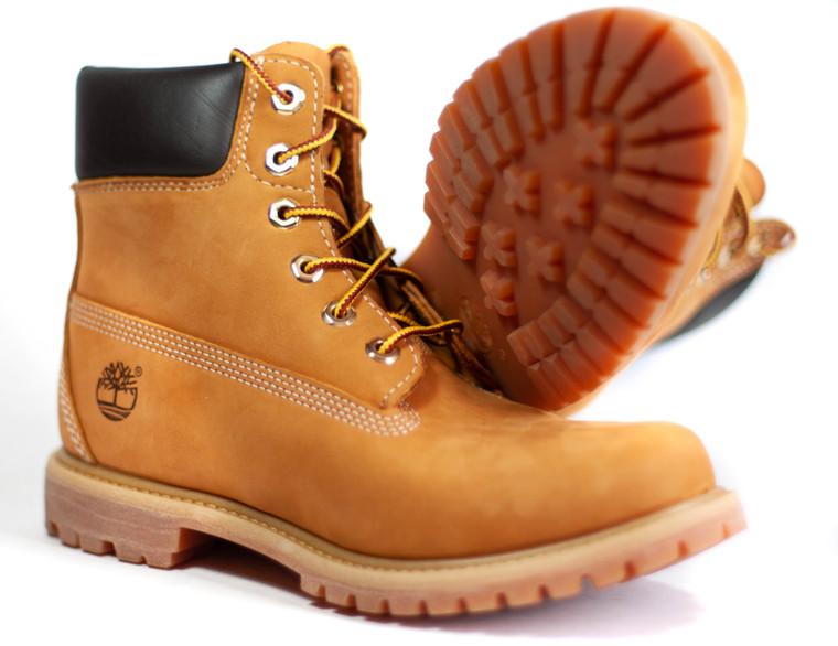 "Timberland Men's 6"" Premium Wheat Boots"