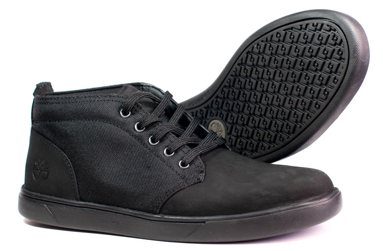 Timberland Davis Square Chukka Shoe (Blackout)