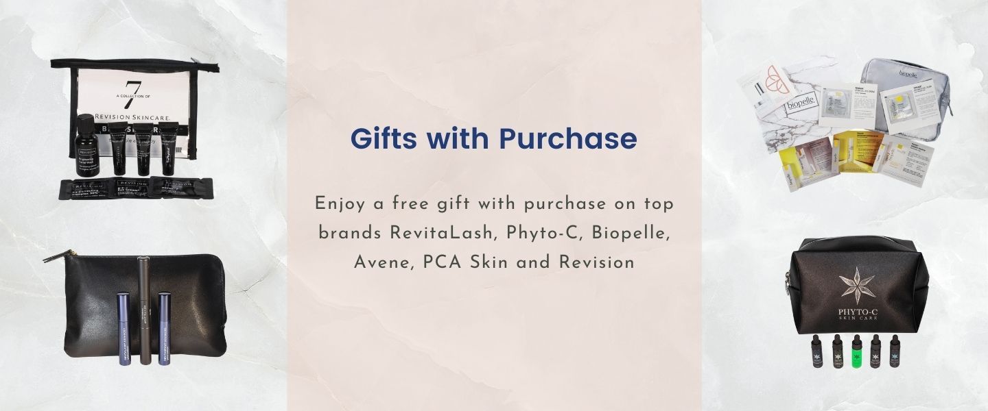 Gifts with purchase on top brands.